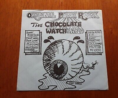 £63.81 • Buy CHOCOLATE WATCH BAND PS EP Sweet Young Thing (Mutt M-1004 EP - USA 1978)