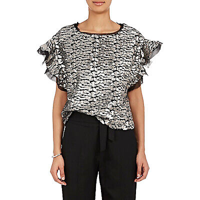 $ CDN210.40 • Buy IRO Deven Sequin Top Size 38 Originally $390