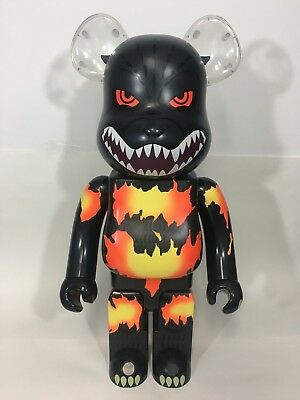 $999.99 • Buy Medicom Toy 1000% Bearbrick Godzilla Vs Destoroyah Desgodzi Rare Japan Burning