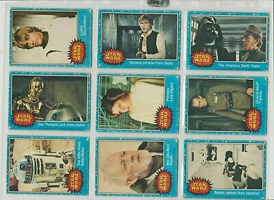 £0.99 • Buy Star War BLUE Border Bubble GUM Cards 1977 ..Pick Your Own