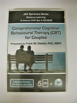 £89.94 • Buy Cbt For Couples ~psychotherapy ~therapist Training ~psychology~5 Dvd +cd -rom