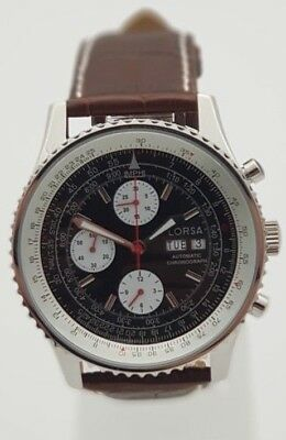 $349 • Buy Automatic Chronograph Watch From Lorsa Valjoux 7750 Clone Movement - New