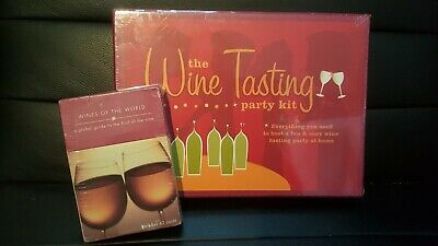 Wine Lovers Gift Set- Set Of 42 Wine Cards-Wine Tasting Party Kit ~NEW~ • 29.99$