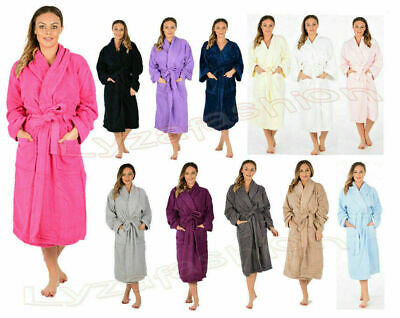 £17.98 • Buy KIDS & Ladies COTTON BATH ROBE TOWELLING DRESSING GOWN VELOUR TERRY TOWEL SOFT