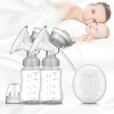 View Details Electric Hand Free Double Breast Pump Automatic Intelligent Baby Feeder USB • 14.99£