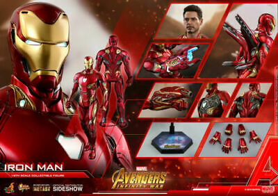 $ CDN1135.85 • Buy Hot Toys Marvel Avengers Infinity War MMS473D23 Iron Man MK50 Mark L BEST DEAL