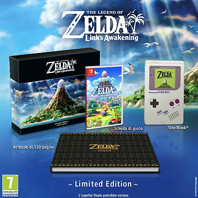 The Legend Of Zelda Link's Awakening Limited Edition EU IMPORT Nintendo Switch  • 149.99$
