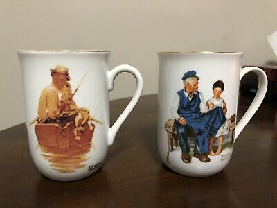 $ CDN22.99 • Buy Norman Rockwell Mugs 1950 1982 Collectible