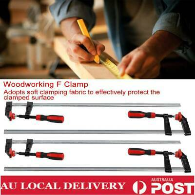 AU55.59 • Buy Durable 4Pcs F Clamps Woodworking Bar Clips Quick Slide DIY Tools AU Local  New