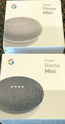 AU42.61 • Buy Google Mini Google Personal Assistant - Charcoal Chalk You Pick Brand New Sealed