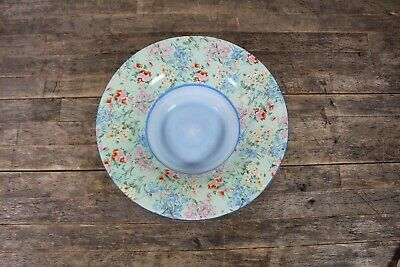 Vintage Shelley Melody Design Chintz Large Floral Bowl. • 34.99£