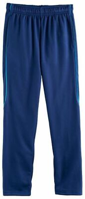$9.50 • Buy Tek Gear Tapered Athletic Pants Drytek Youth Boys Size 14/16 14-16 Blue GUC