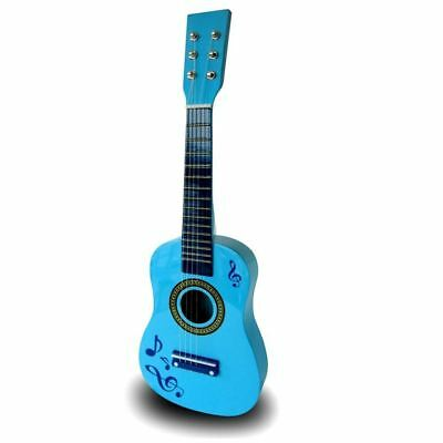 23  Childrens Kids Wooden Acoustic Guitar Musical Instrument Child Toy Xmas Gift • 12.99£