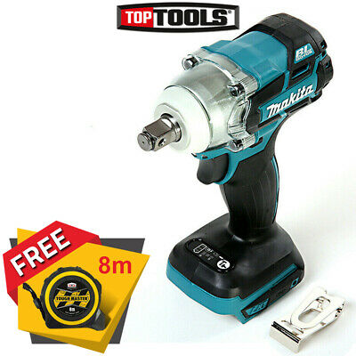 Makita DTW285Z 18V Li-ion Cordless Impact Wrench Body + Free Tape Measures 8M  • 134.90£