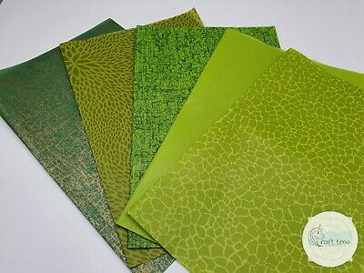 Decopatch Paper, Decoupage Paper GREEN Half Sheet Collection Pack  • 4.50£