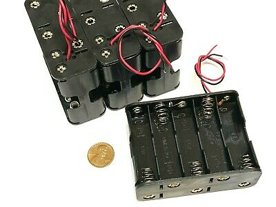 £10.89 • Buy 4 Pieces  Battery Holder Box Case Wired 10 X AA 12V 15V 10aa Back To Back  C38