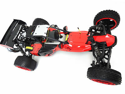 1/5 Rovan 305A Gas Desert Buggy RTR 30.5cc HPI Baja 5B King Motor Compatible Red • 360.79£