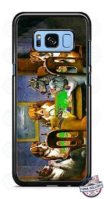 AU20.26 • Buy Doggy Playing Poker Phone Case Cover For IPhone 11 Pro Max Samsung A20 LG Google