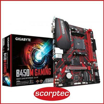 AU158.94 • Buy Gigabyte GA-B450M Gaming Motherboard