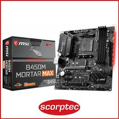 AU201.62 • Buy MSI B450M MORTAR MAX Motherboard
