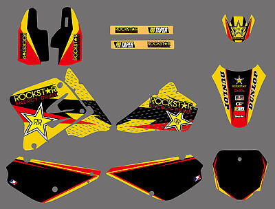 $47.49 • Buy 2002-2015 For Suzuki RM 85 RM85 Team Graphics & Backgrounds Decals Sticker Kit