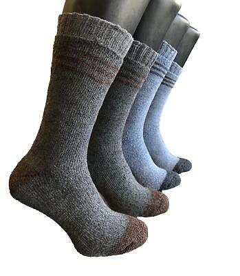 1 -15 Pair Long Thermal Extra Thick  Fleece Lined  Work Sock - Ski Sock-  Shaann • 11.99£