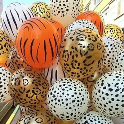 $ CDN5.11 • Buy 1set Latex Animal Balloons Green Jungle Theme Party Baloon Baby Foil Balloon
