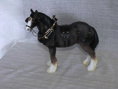 Shire Horse Ornament Figurine By Leonardo Country Life Collection Beautiful Gift • 24.95£