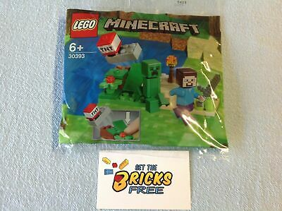 AU12.99 • Buy Lego Minecraft 30393 Steve And Creeper Polybag New/Sealed/Hard To Find
