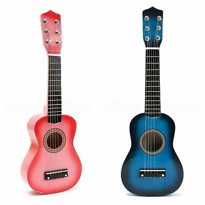 21  Childrens Kids Wooden Acoustic Guitar Musical Instrument Child Toy Xmas Gift • 12.99£