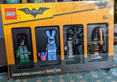 £25 • Buy Lego Toys R Us Batman Movie Limited Edition Minifigure 4 Pack New Sealed