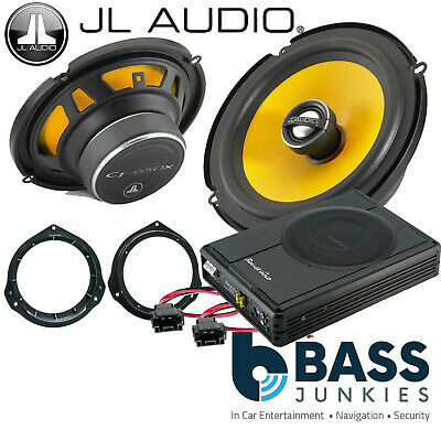 Mercedes Vito W447 JL PG Audio Front Door Car Speakers & 300W Underseat Sub Kit • 209£