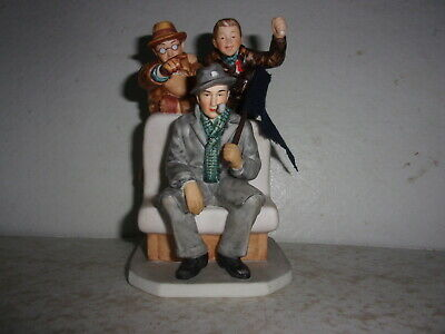 $ CDN29.47 • Buy Norman Rockwell Life W/father Cheering Champs Figurine Saturday Evening Post