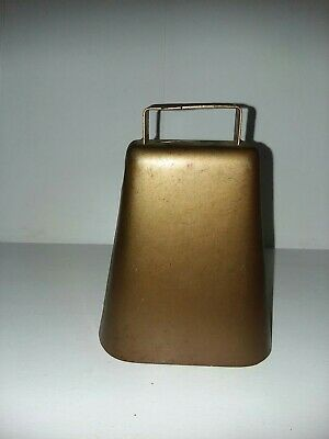 Steel Copper-Washed Cow Bell • 17.99$