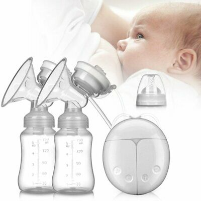 View Details Electric Breast Pump Mute Automatic Dual Breastpump Baby Infant Feeding With USB • 16.99£