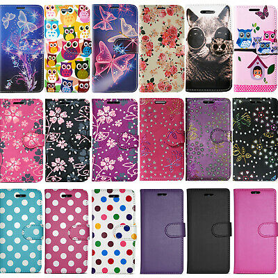 £3.96 • Buy For Samsung Galaxy A40 Pu Leather Wallet Book Flip Card Slot Phone Case Cover