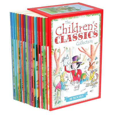 $26.97 • Buy The Children's Classics Collection: 16 Book Box Set