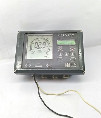 £641 • Buy Calypso PVBEN  406 Speed And Distance Measuring Ship Speed Log Unit Navigation