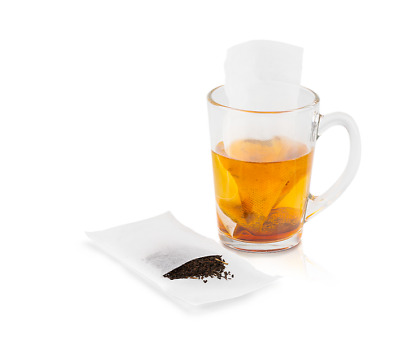 Strong Non-Woven Teabags Plastic Free Eco Biodegradable Empty Tea Bags • 2.25£