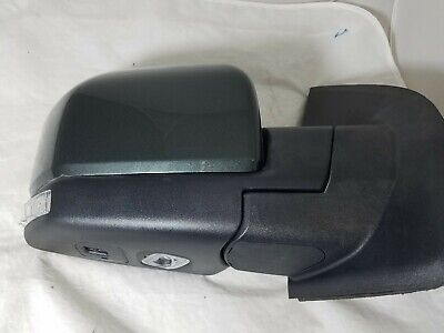 $229 • Buy 2015-18 Ford F-150 Right Mirror, Power Fold,turn Signal,,heat,puddle Gray Met.