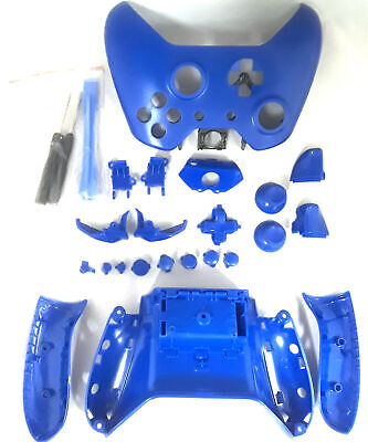 Wireless Controller Full Shell Case Housing For Xbox One Matte Blue • 14.99$