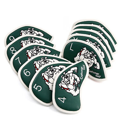 AU34.86 • Buy Iron Golf Head Covers Club Set Cover Headcovers For Mizuno Taylormade Callaway