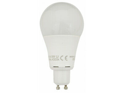 8516 LED 9W Frosted GLS L1/GU10 Cap (2315 Replacement) 4000K TP24 Cool White  • 8.50£