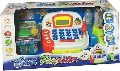 £19.99 • Buy Children's Toy Cash Register  - Pretend And Play Kid's Till With Play Money