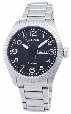 $69.99 • Buy Citizen Eco-Drive Men's Black Dial Day And Date Window 42mm Watch BM8530-89E