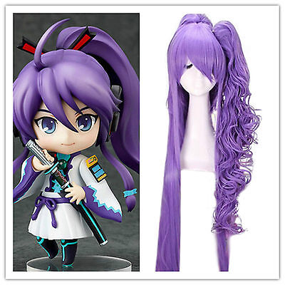 $31.34 • Buy New Anime VOCALOID Gakupo Long Purple Cosplay Ponytail Full Wig