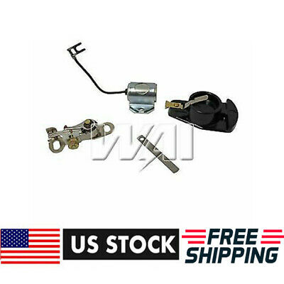 $12.55 • Buy Ignition Kit W/ Points Condenser Rotor For IH Farmall A B C H M 100 200 300 400