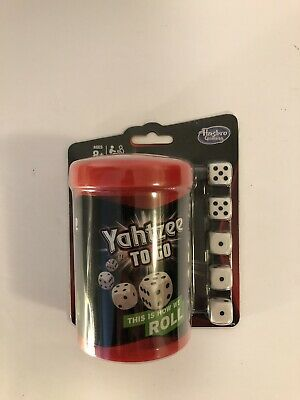 AU11.33 • Buy Yahtzee To Go Hasbro Travel Game Gaming Board Game