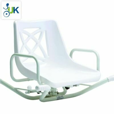 £119.99 • Buy Drive Steel Swivel Bath Seat Bathing Mobility Aid Chair Stool With Backrest