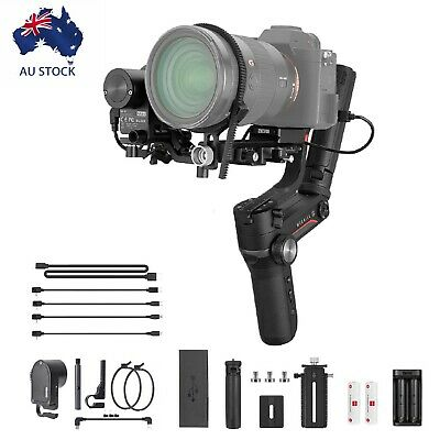 AU595 • Buy Zhiyun Weebill S Zoom/Focus Pro Kit 3-Axis Gimbal Stabilizer For DSLR Mirrorless